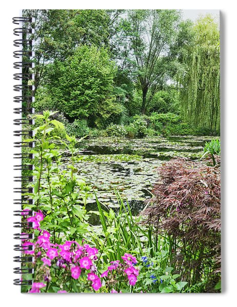 Giverny 1 Spiral Notebook