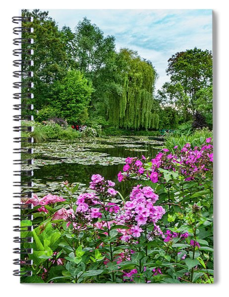 Giverny 10 Spiral Notebook