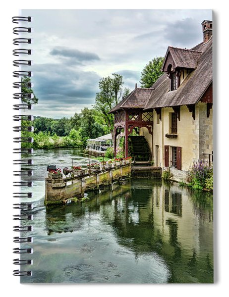 Giverny 3 Spiral Notebook