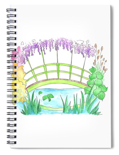 Giverny Spiral Notebook