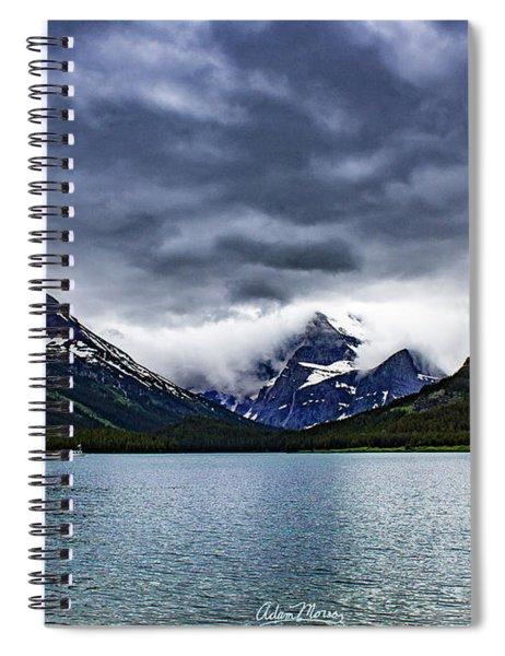 Glacial Getaway Spiral Notebook