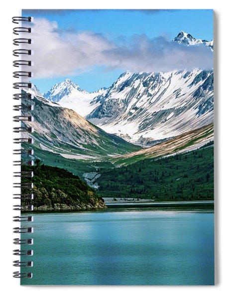 Glacial Valley Spiral Notebook