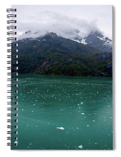 Glacier Bay Mountain Spiral Notebook