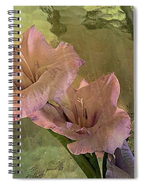 Gladiolas Spiral Notebook