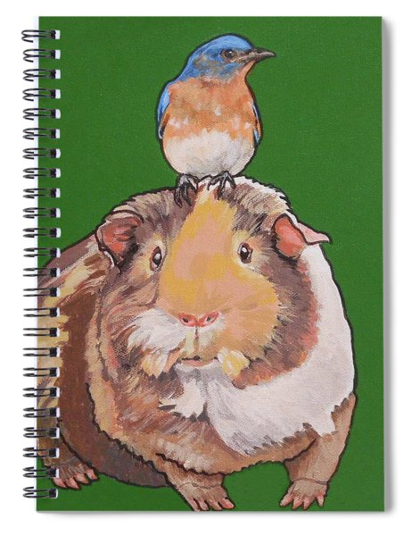 Gladys The Guinea Pig Spiral Notebook