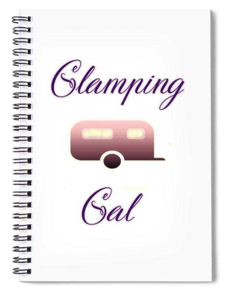 Glamping Gals Spiral Notebook