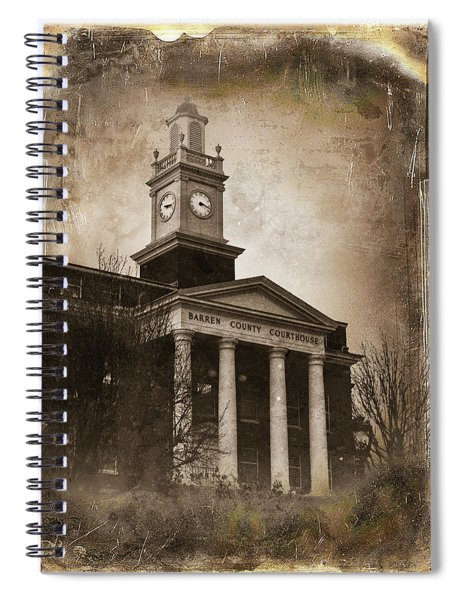 Glasgow Ky Courthouse Spiral Notebook