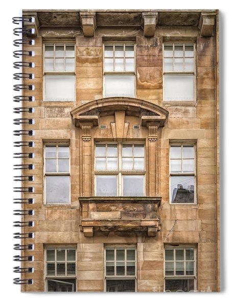 Glasgow Tenement Facade Spiral Notebook