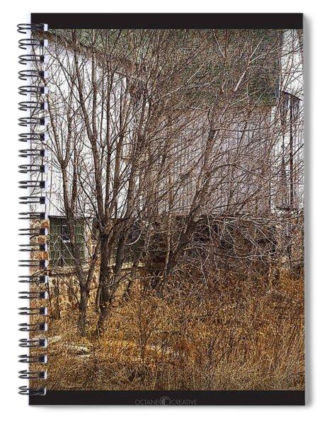 Glass Block Spiral Notebook