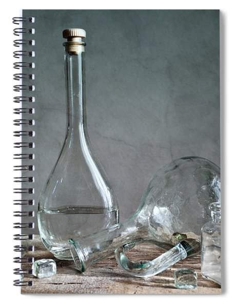 Glass Spiral Notebook