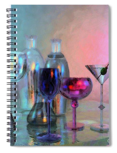 Glassy Still Life Spiral Notebook