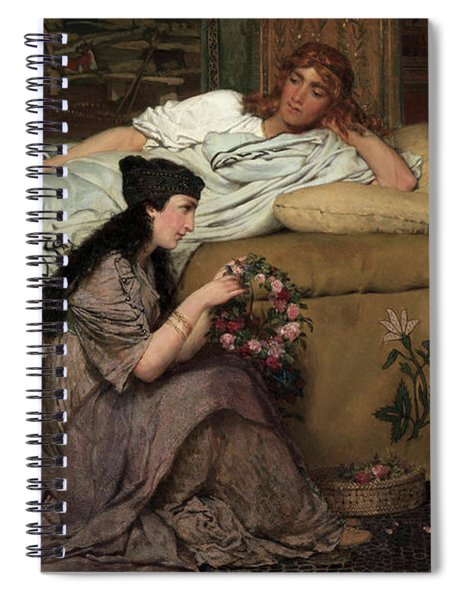 Glaucus And Nydia, 1867 Spiral Notebook
