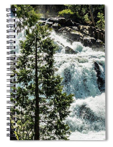 Glen Alpine Falls 1 Spiral Notebook