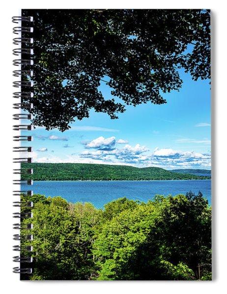 Glen Lake Spiral Notebook