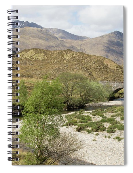 Glen Shiel - Scotland Spiral Notebook
