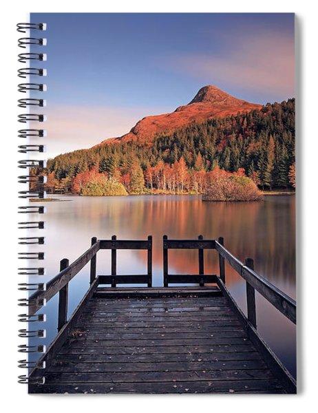 Glencoe Lochan  Spiral Notebook