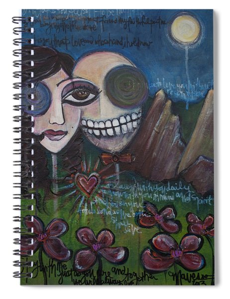 Glenn And Allison Spiral Notebook