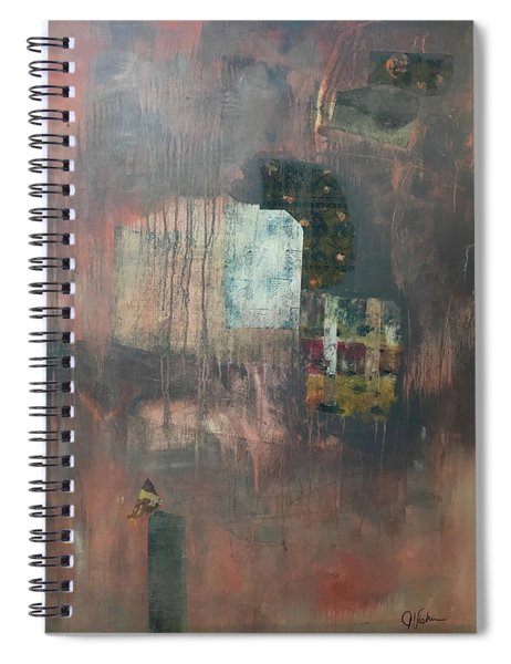 Glimpse Of Town Spiral Notebook