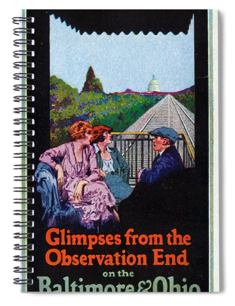 Glimpses From The Observation End Spiral Notebook