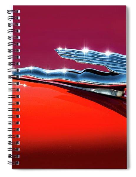 Glinted Beauty Spiral Notebook