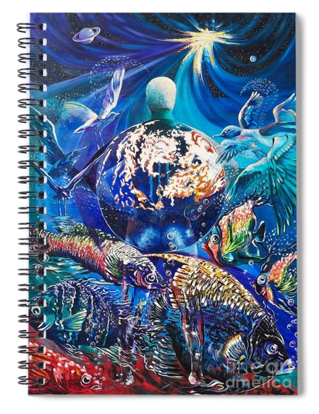 Planet  Earth - Our Family Tree Spiral Notebook