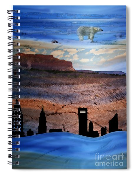 Global Care Be Aware Spiral Notebook