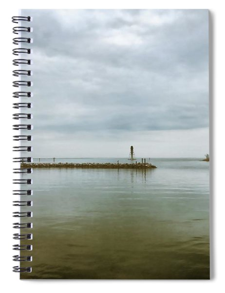 Gloom On The Bay Spiral Notebook