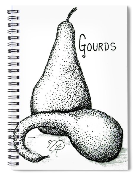 Glorious Gourds Spiral Notebook