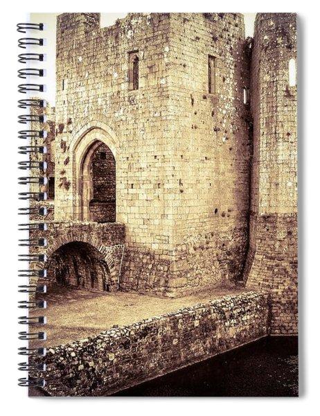 Glorious Raglan Castle Spiral Notebook