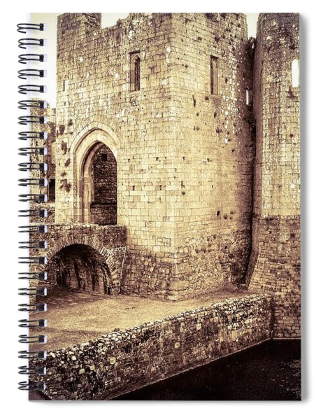 Glorious Raglan Castle Spiral Notebook