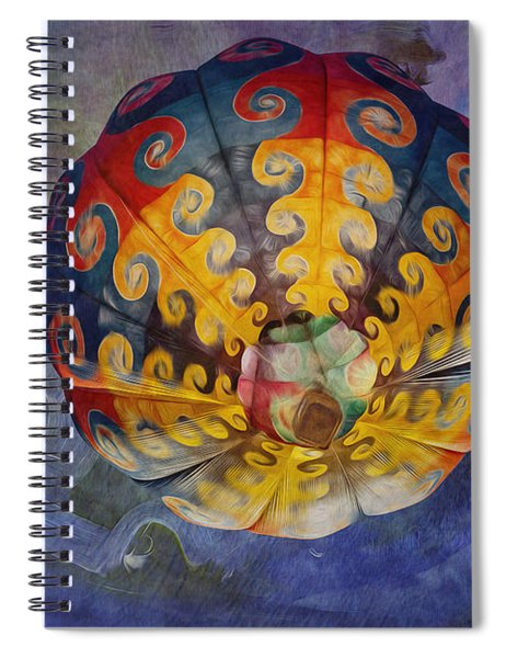 Glory Of The Sky Spiral Notebook