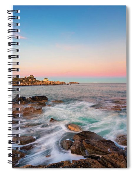Gloucester Sunset 1 Spiral Notebook