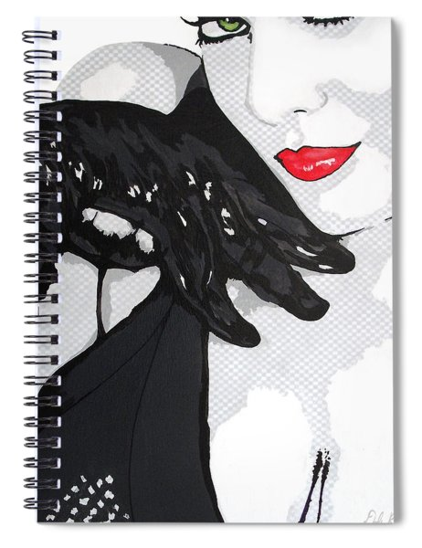 Gloves And A Smile Spiral Notebook