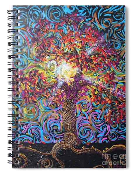 Glow Of Love Spiral Notebook