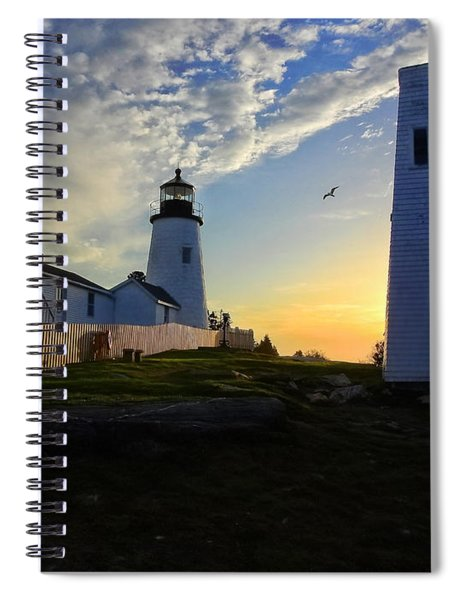 Glow Of Morning Spiral Notebook