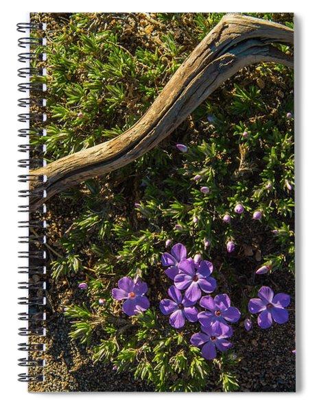 Glowing Plox Spiral Notebook