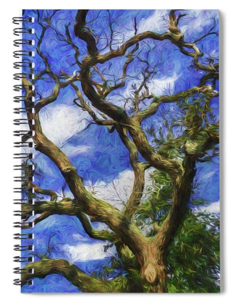 Starry Afternoon Spiral Notebook