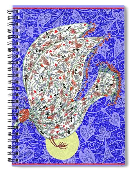 Go Fish, The Exotic Bird Spiral Notebook