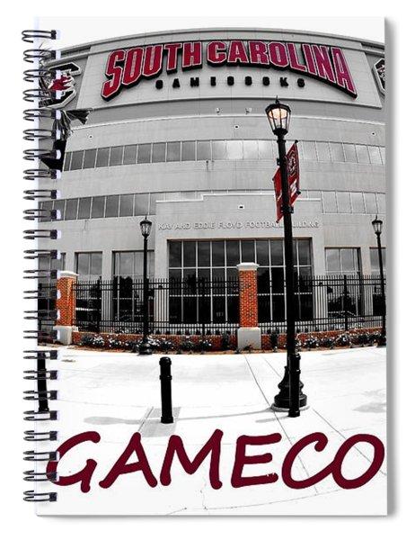 Go Gamecocks Spiral Notebook