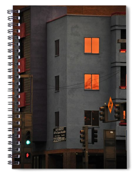 Spiral Notebook featuring the photograph Go by Skip Hunt