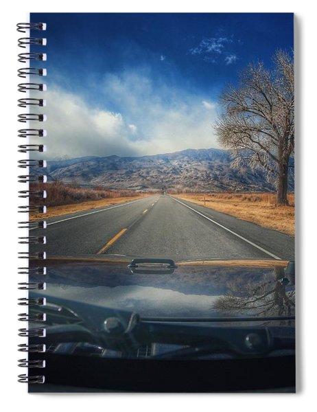 Go West Spiral Notebook