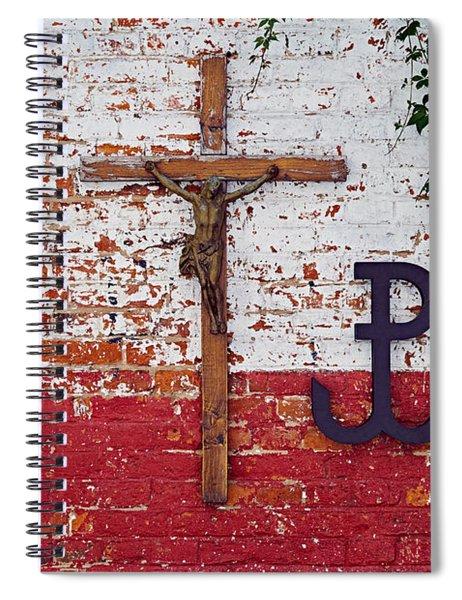 God, Honour, Fatherland Spiral Notebook