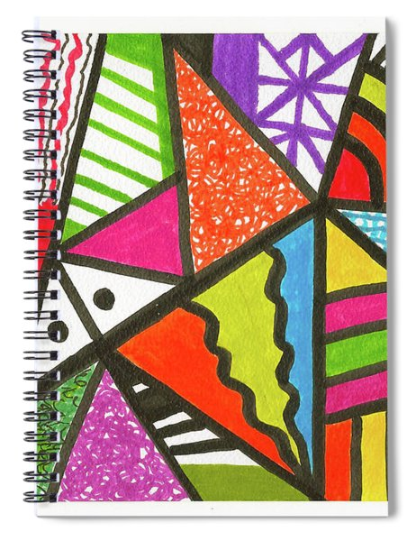 God Is Color Redux Spiral Notebook