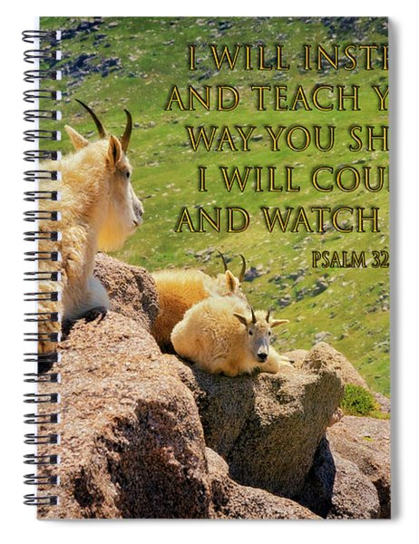 God Will Watch Over You Spiral Notebook