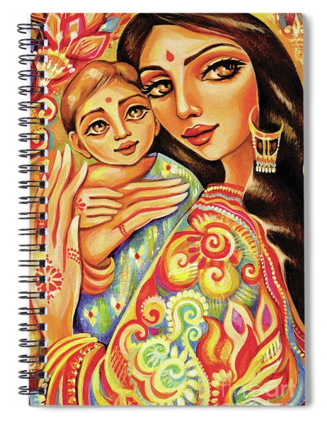 Goddess Blessing Spiral Notebook