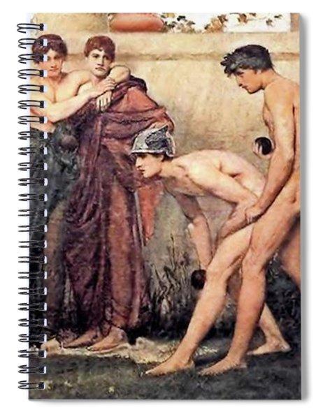 Gods At Play Spiral Notebook