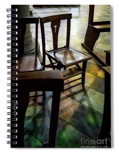 God's Chair Spiral Notebook