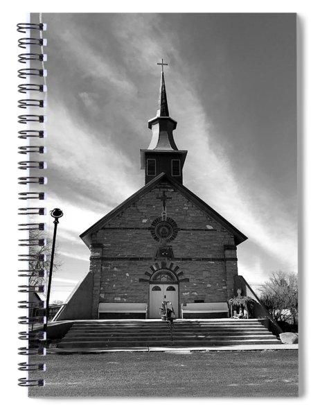 Gods House Spiral Notebook