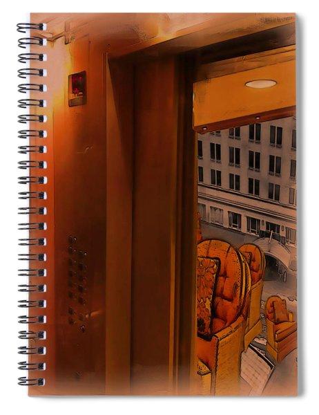 Going Down? Spiral Notebook