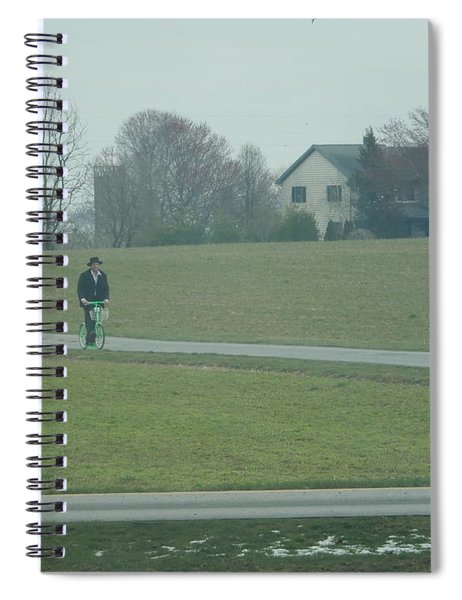 Going For A Visit Spiral Notebook